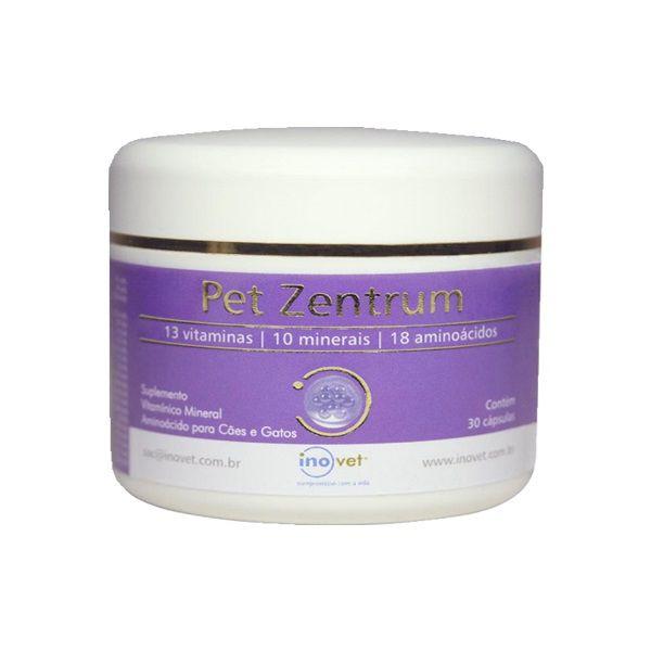 Suplemento Inovet Pet Zentrun - 30 Cápsulas