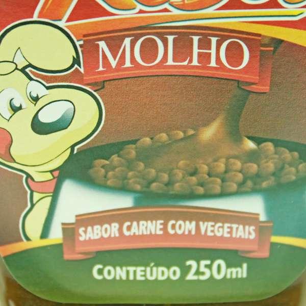 Molho XisDog Carne com Vegetais para Cães - 250 mL