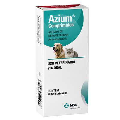 Anti-inflamatório MSD Azium - 20 Comprimidos