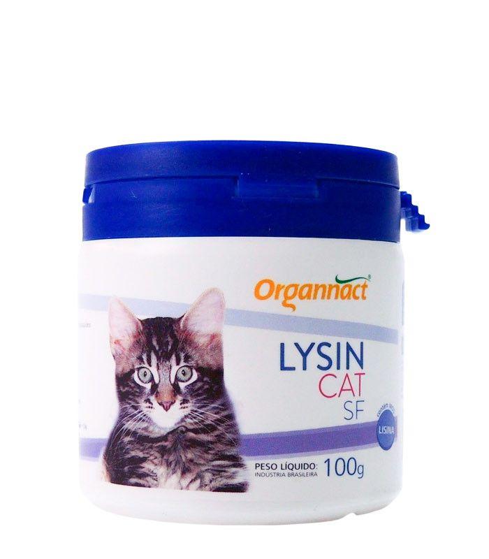 Suplemento Alimentar Organnact Cat Lysin SF - 100 g
