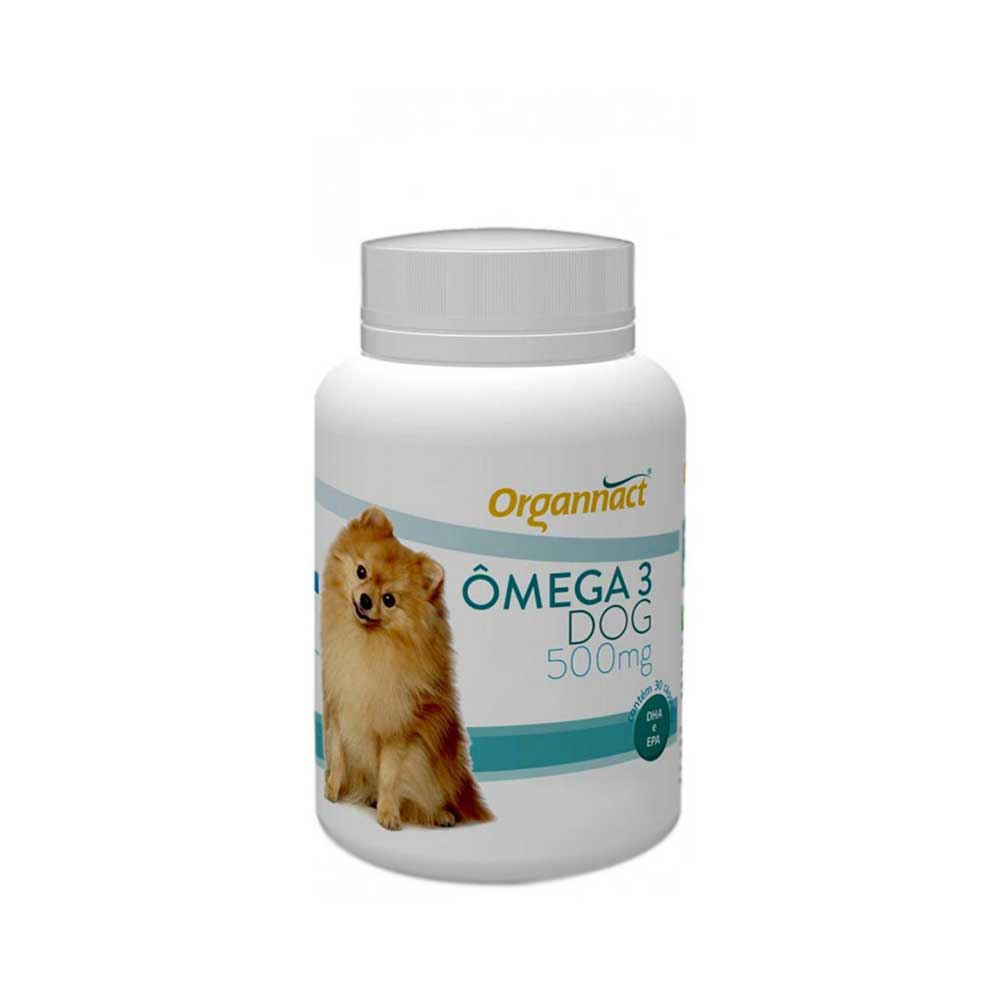 Suplemento Vitamínico Organnact Omega 3 Dog