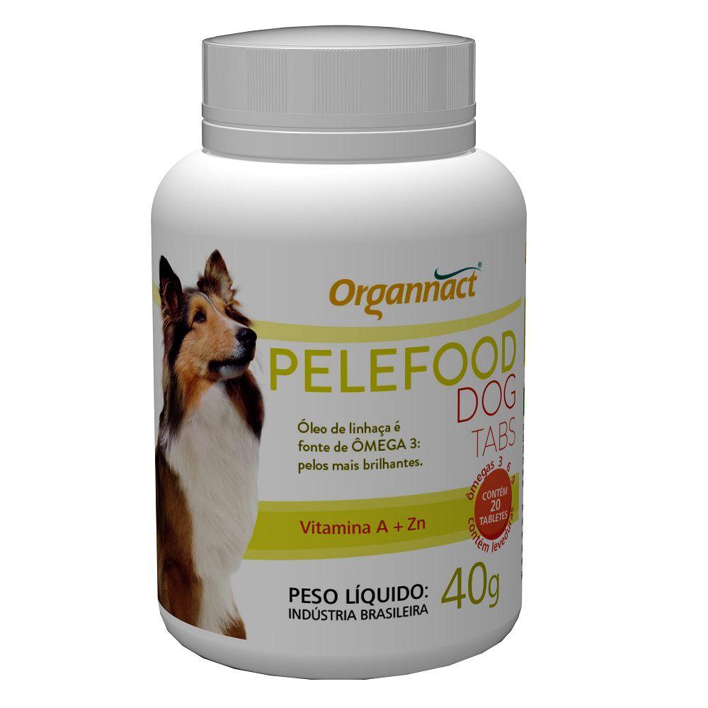 Suplemento Organnact Cães Pelefood Tabs 40 g