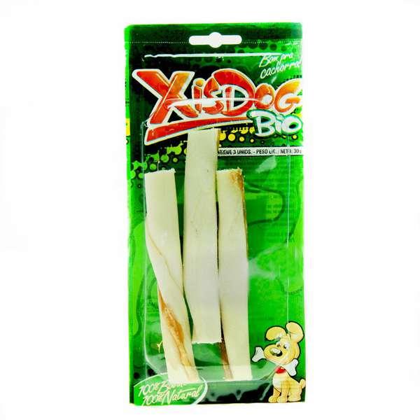 Osso XisDog Bio Enrolado - 3 Unidades