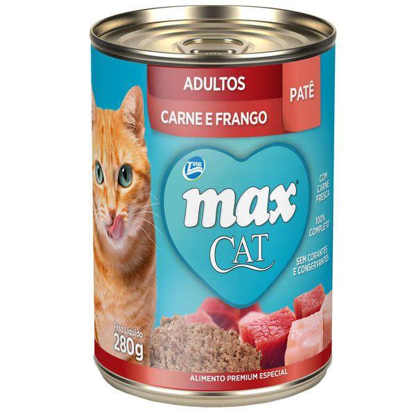 Patê Total Max Carne e Frango para Gatos Adultos