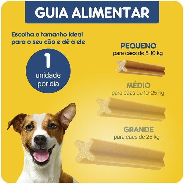 Petisco Pedigree Dentastix Cuidado Oral Para Cães Adultos Raças Pequenas