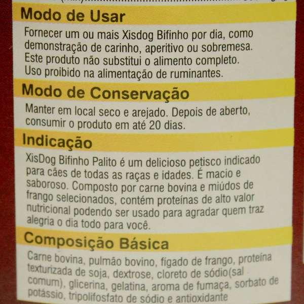 Petisco XisDog Bifinho Palito Carne - 350 g