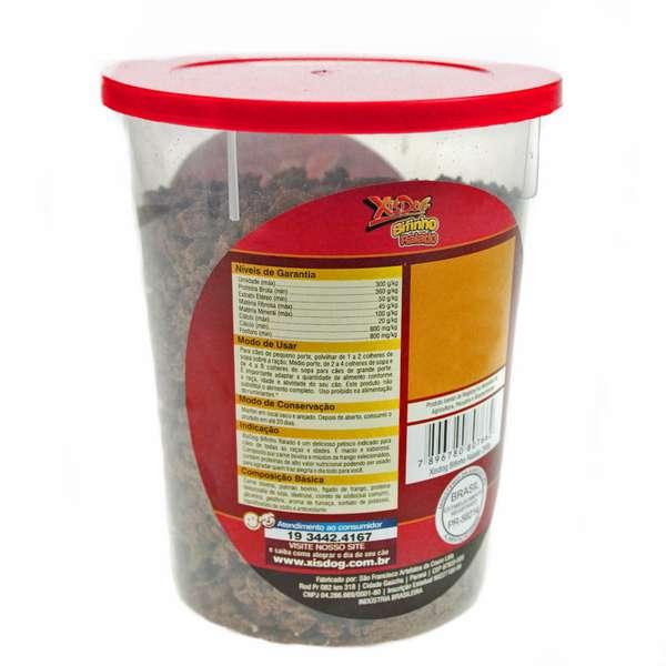 Petisco XisDog Bifinho Ralado Pote - 250 g
