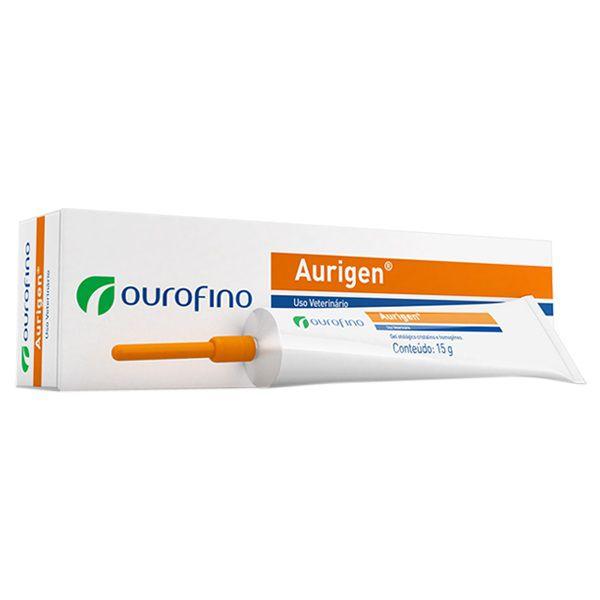Pomada Ourofino Aurigen Tratamento Otológico - 15 g
