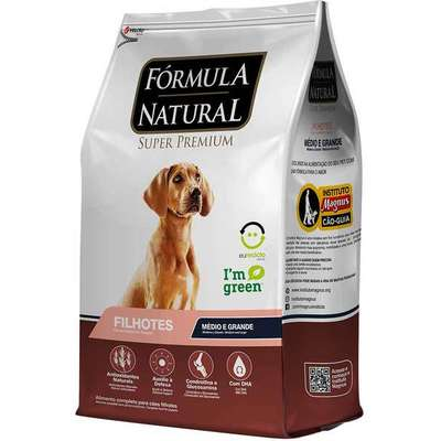 Ração Adimax Pet Formula Natural para Cães Filhotes de Raças Média e Grande