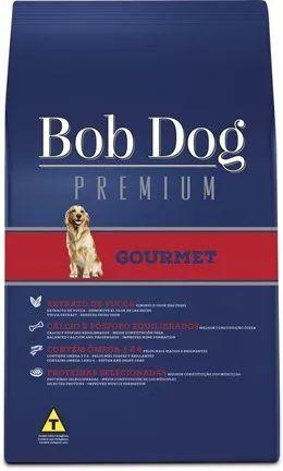 Ração Bob Dog Gourmet Premium para Cães Adultos