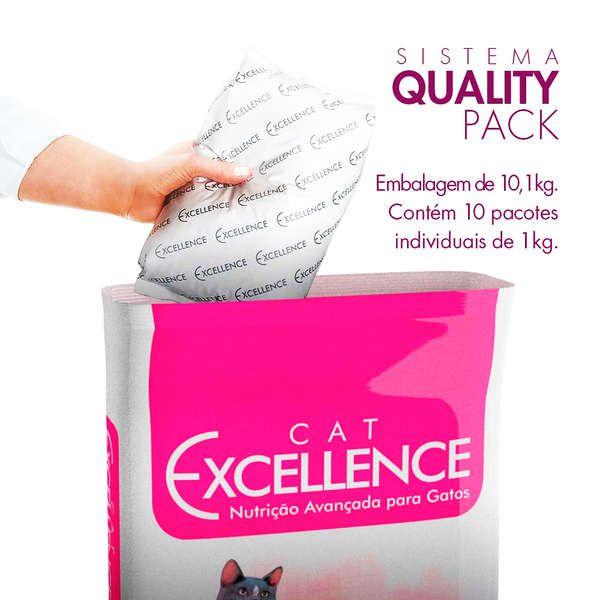 Ração Cat Excellence Salmão para Gatos Adultos 10,1 kg