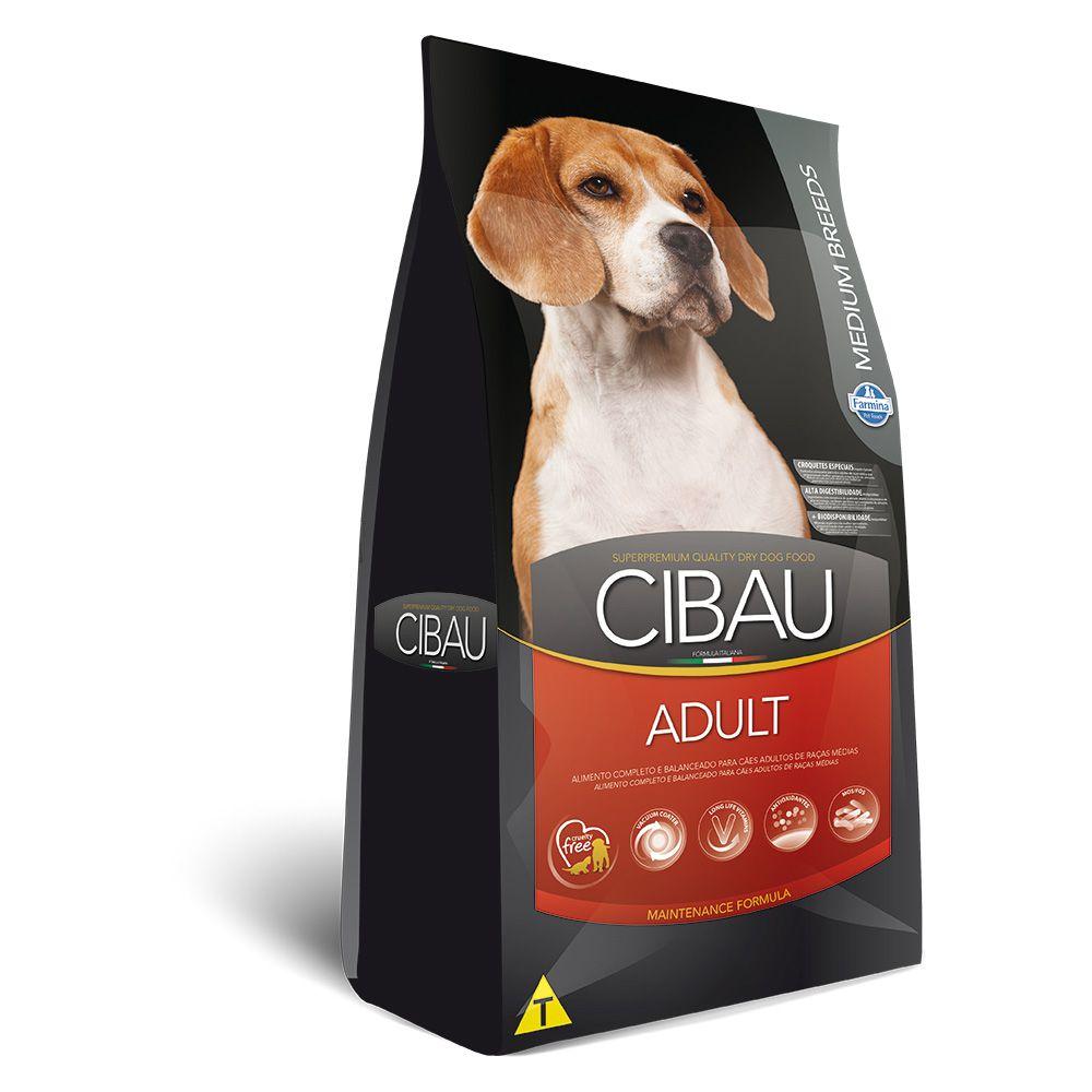 Ração Farmina Cibau Adult para Cães Adultos de Raças Médias
