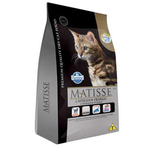 Ração Farmina Matisse Frango para Gatos Adultos Castrados