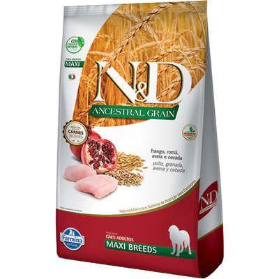 Ração Farmina N&D Ancestral Grain Frango Cães Adultos Raças Grandes 10,1 kg
