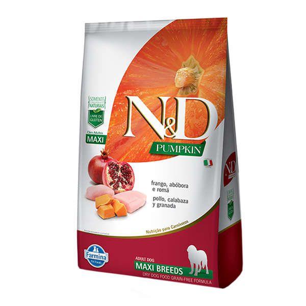 Ração Farmina N&D Pumpkin Frango para Cães Adultos de Raças Grandes 10,1 kg