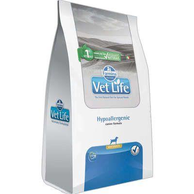 Ração Farmina Vet Life Natural Hypoallergenic para Cães Mini