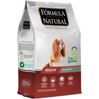 Ração Fórmula Natural Cães Adultos Raças Mini e Pequena
