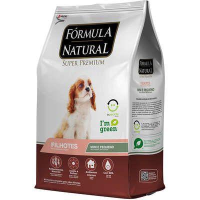 Ração Fórmula Natural Cães Filhotes Raças Mini e Pequena
