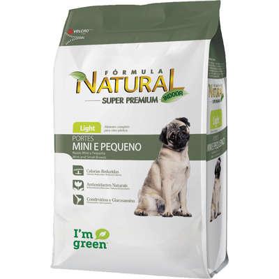 Ração Fórmula Natural Light Cães Adultos Raças Mini e Pequena