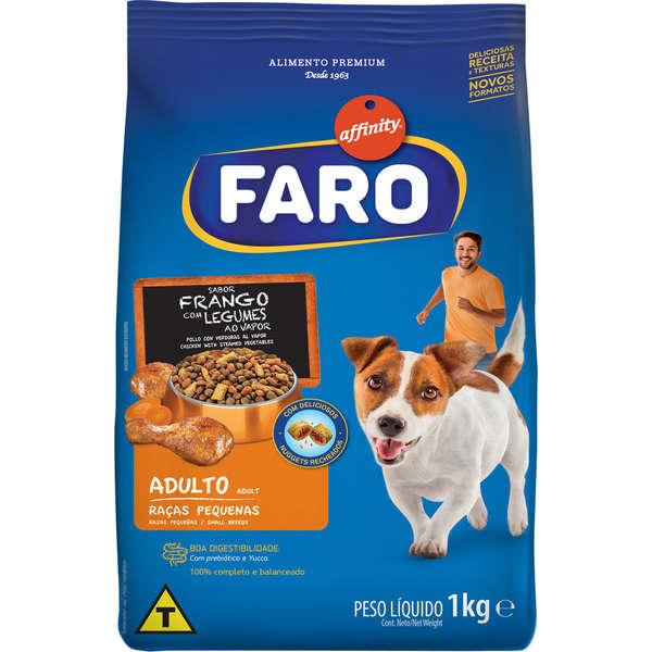 Ração Guabi Affinity Faro Frango com Legumes para Cães Adultos de Raças Pequenas