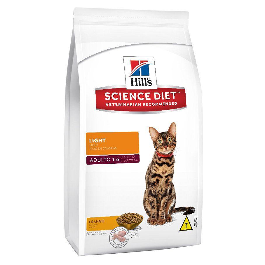 Ração Hills Science Diet Light para Gatos Adultos