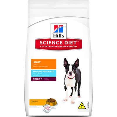 Ração Hills Science Diet Light Pedaços Pequenos para Cães Adultos