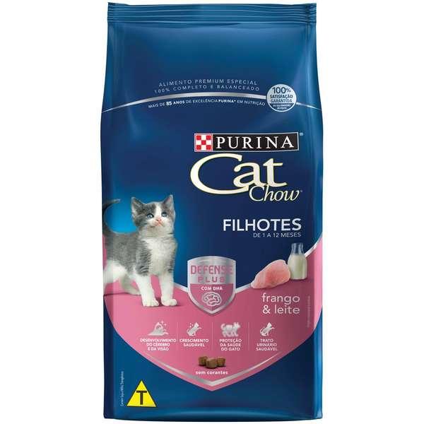 Ração Nestlé Purina Cat Chow Filhotes Frango e Leite