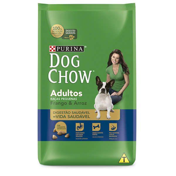 Ração Nestlé Purina Dog Chow Adultos Raças Pequenas Frango e Arroz