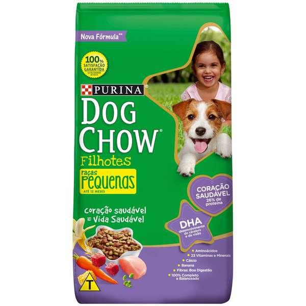 Ração Nestlé Purina Dog Chow Filhotes Raças Pequenas