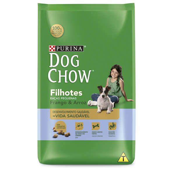 Ração Nestlé Purina Dog Chow Filhotes Raças Pequenas Frango e Arroz