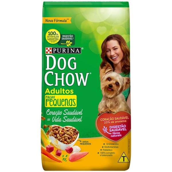 Ração Nestlé Purina Dog Chow para Cães Adultos Raças Pequenas