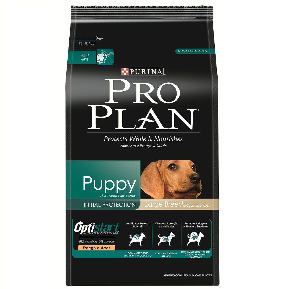 Ração Nestlé Purina Pro Plan OptiStart Proteção Inicial para Cães Filhotes de Raças Grandes - 15 Kg