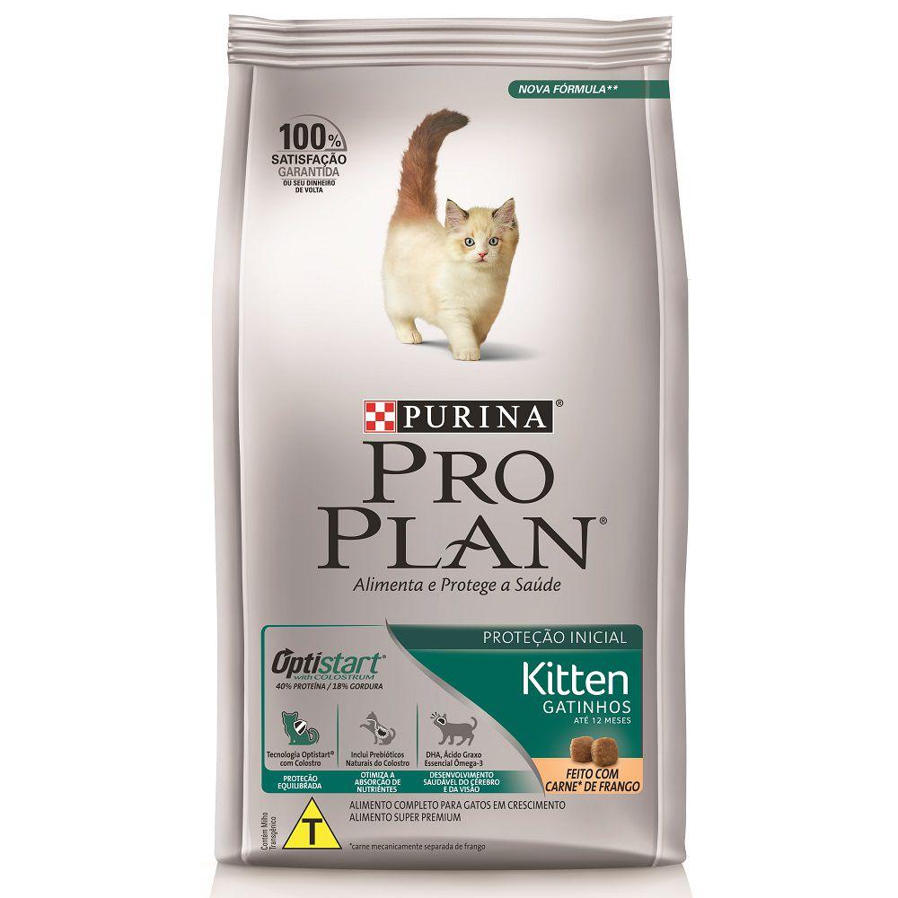 Ração Nestlé Purina Pro Plan OptiStart Proteção Inicial para Gatos Filhotes