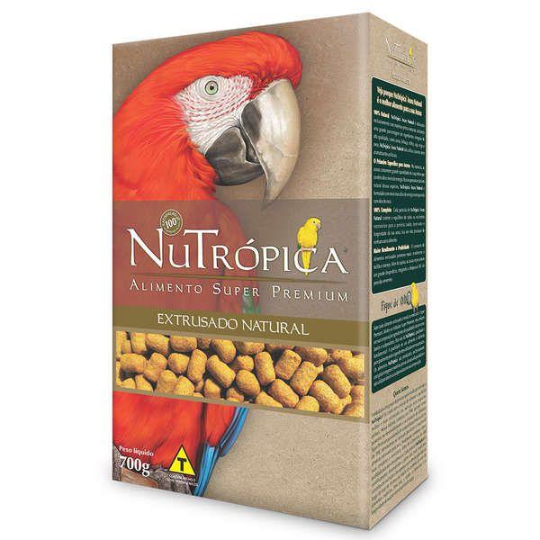 Ração Nutrópica Natural para Arara