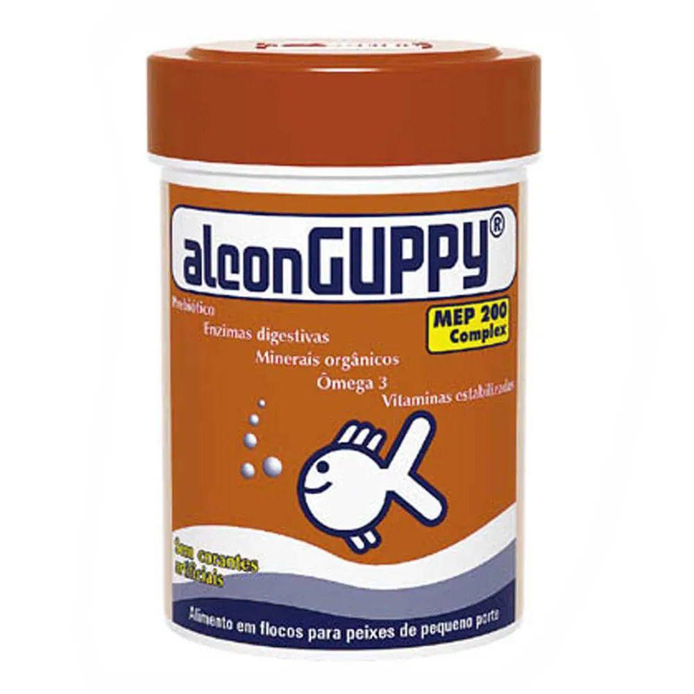 Ração para Peixes Guppy Alcon