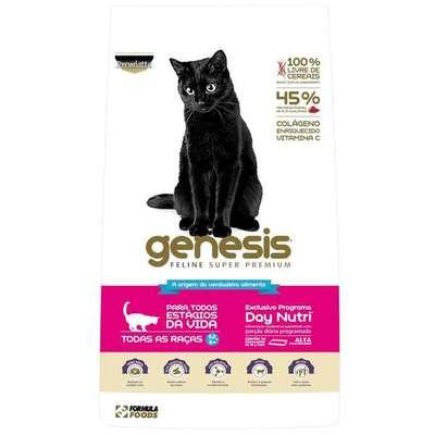 Ração Premiatta Genesis Feline Super Premium para Gatos de Todas as Idades com 0,2 a 6 Kg