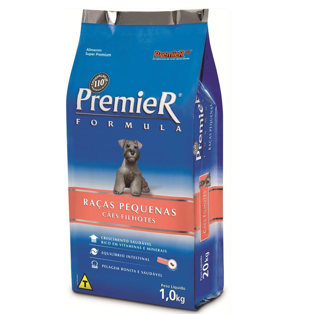 Ração Premier Pet Formula Frango para Cães Filhotes de Raças Pequenas