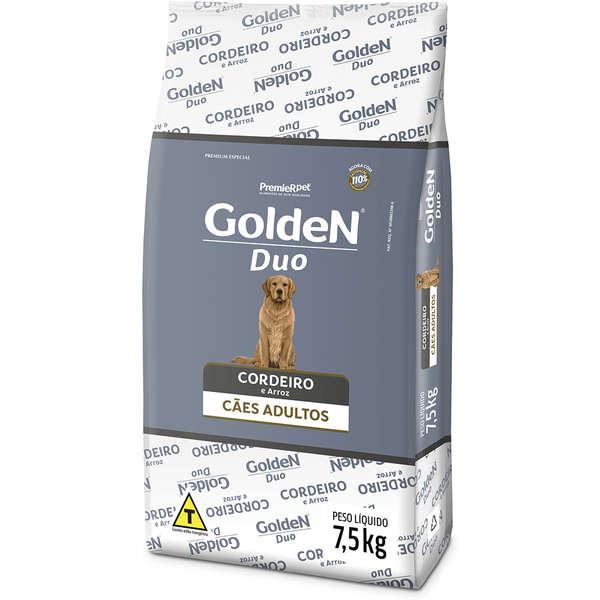 Ração Premier Golden DUO Salmão e Cordeiro com Ervas e Arroz para Cães Adultos - 15Kg