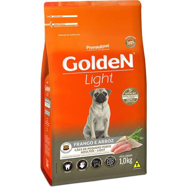 Ração Premier Golden Formula Light Mini Bits Frango e Arroz para Cães Adultos de Raças Pequenas