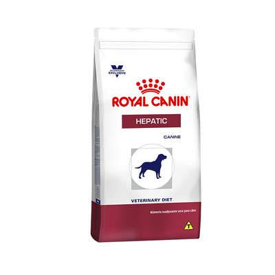 Ração Royal Canin Canine Veterinary Diet Hepatic para Cães Adultos com Problemas Hepáticos