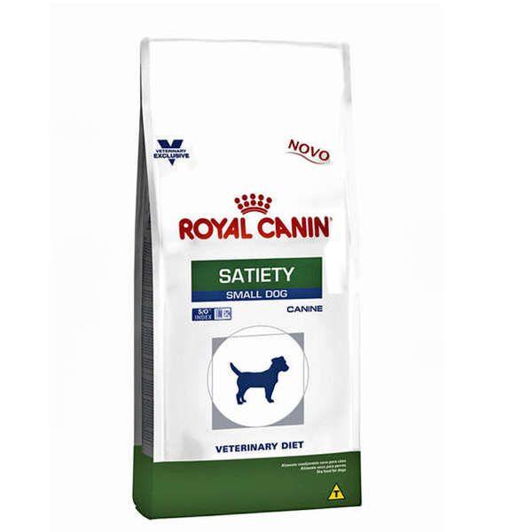 Ração Royal Canin Canine Veterinary Diet Satiety para Cães de Raças Pequenas