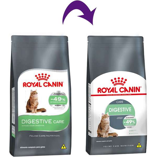 Ração Royal Canin Feline Digestive Care Nutrition para Gatos Adultos