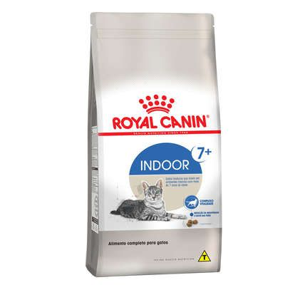 Ração Royal Canin Feline Health Nutrition Indoor 7 + para Gatos Adultos
