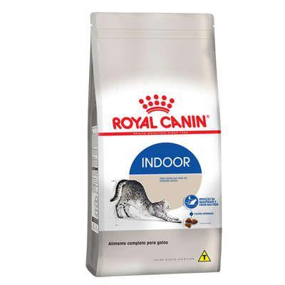 Ração Royal Canin Cat Indoor para Gatos Adultos