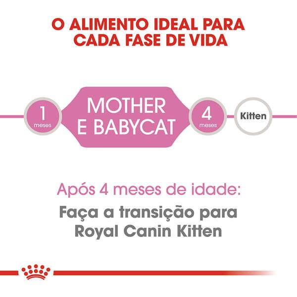 Ração Royal Canin Feline Health Nutrition Mother & Baby Cat para Gatos Filhotes de 1 a 4 Meses de Idade