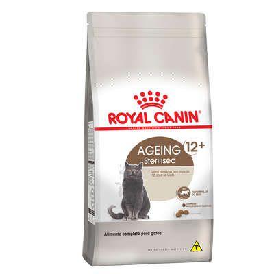 Ração Royal Canin Feline Health Nutrition Sterilised para Gatos Idosos Castrados Acima de 12 Anos