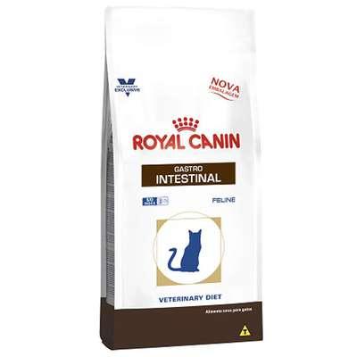 Ração Royal Canin Feline Veterinary Diet Gastro Intestinal para Gatos com Doenças Intestinais - 1,5 Kg