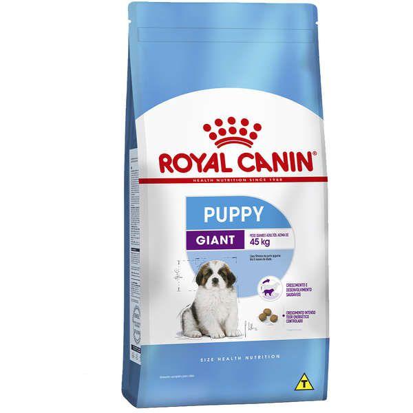 Ração Royal Canin Giant Puppy para Filhotes de Cães Gigantes de 2 a 8 Meses de Idade - 15 Kg