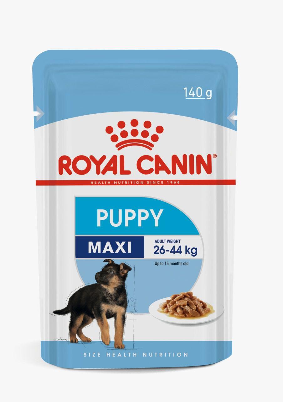 Ração Royal Canin Sachê Puppy Maxi - 140 g