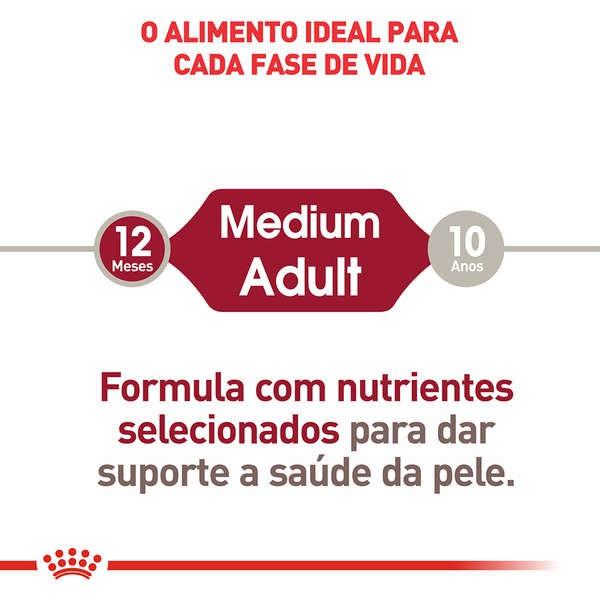 Ração Úmida Royal Canin Sachê Size Health Nutrition Wet para Cães Adultos de Raças Médias - 140g